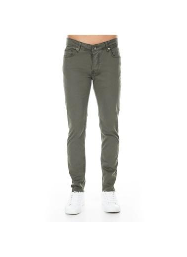 Five Pocket Jean Pantolon Haki